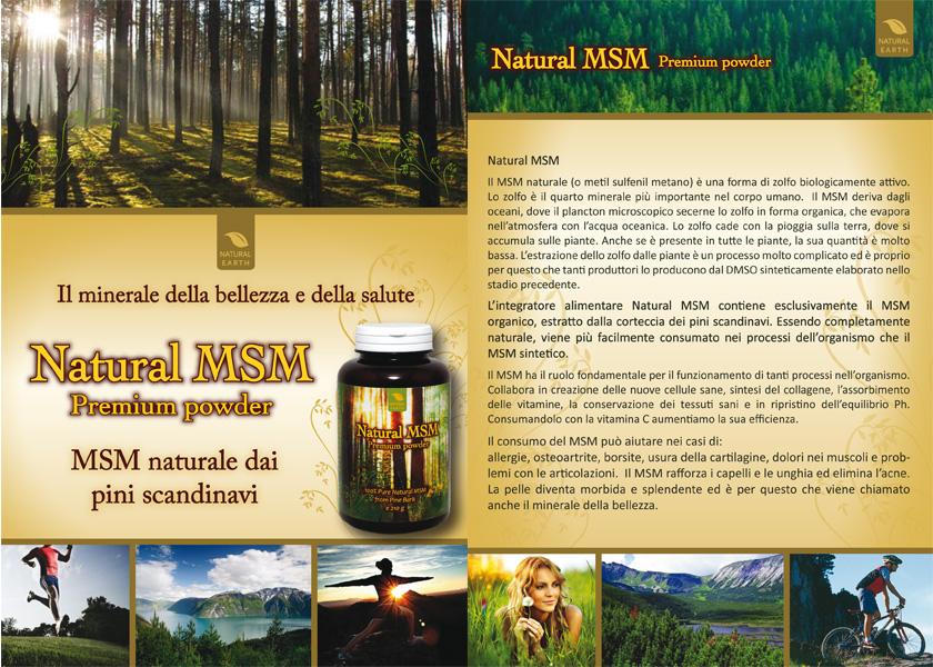 msm integratore, la scelta naturale per preservare il proprio benessere