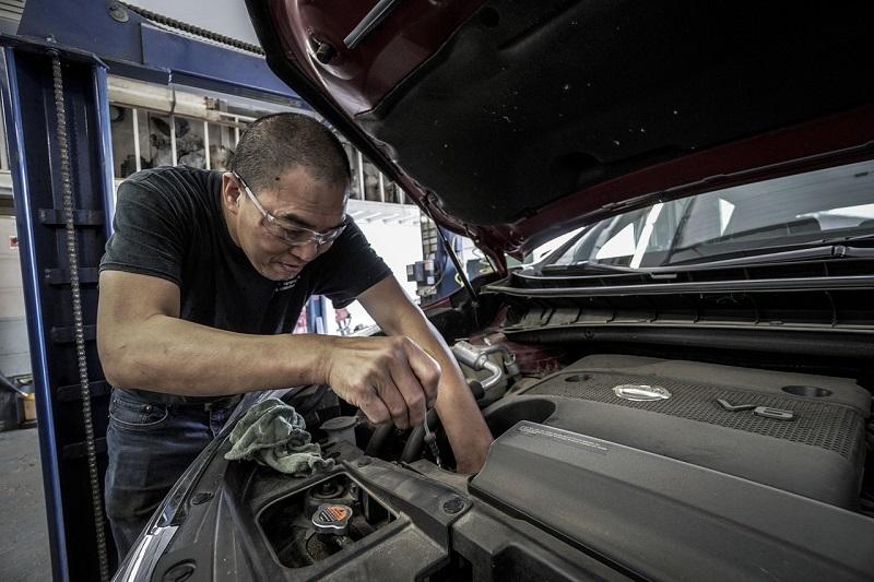 Olio motore per auto